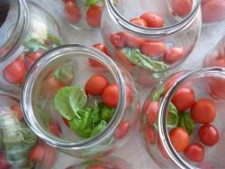 Agriturismo Nonna Cecilia: conserve di pomodoro di produzione propria