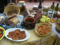 Agriturismo Nonna Cecilia: cucina tipica