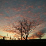 Fragneto, al tramonto
